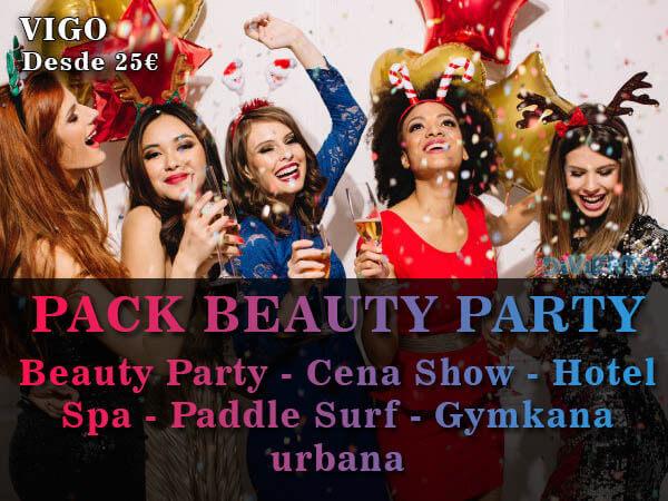 Pack despedida de soltera en Vigo - Beauty Party desde 20€ por persona